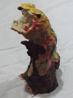 ティラノサウルスちょきんばこ